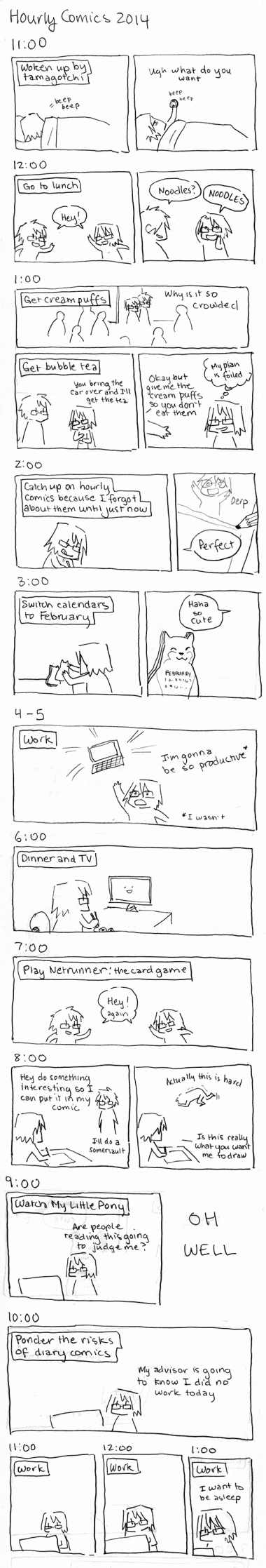 Hourly Comics Day 2014
