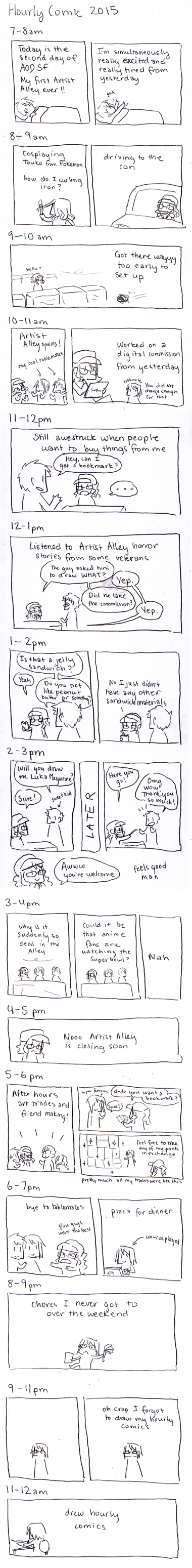 Hourly Comics Day 2015