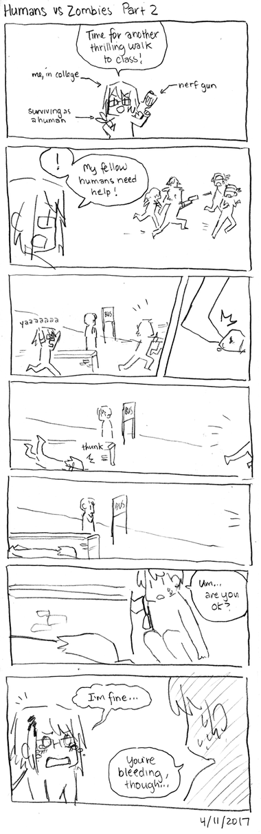 Humans vs Zombies Part 2