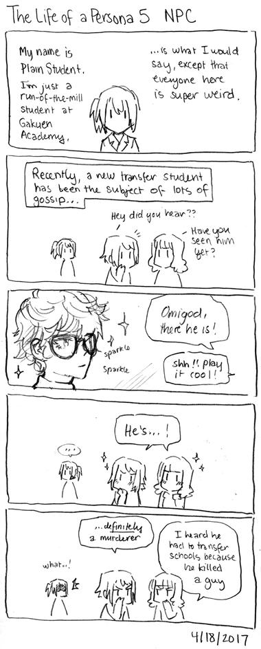 The Life of a Persona 5 NPC