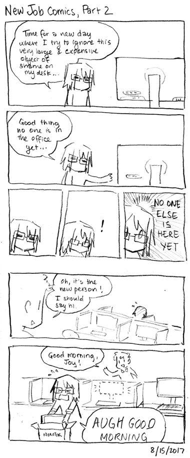 New Job Comics, Part 2