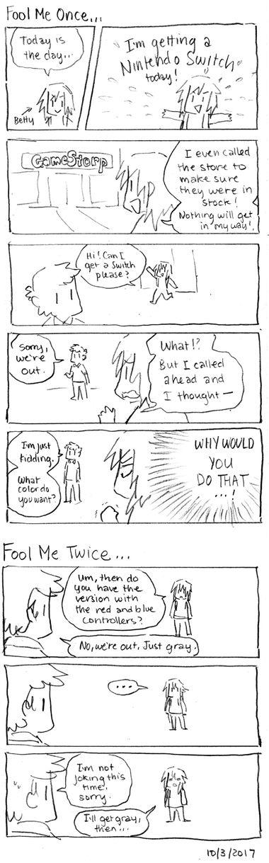 Fool Me Once…