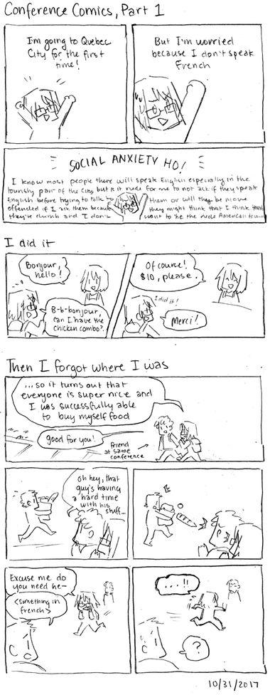 Conference Comics, Part 1