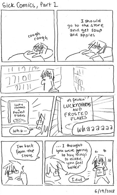 Sick Comics, Part 1