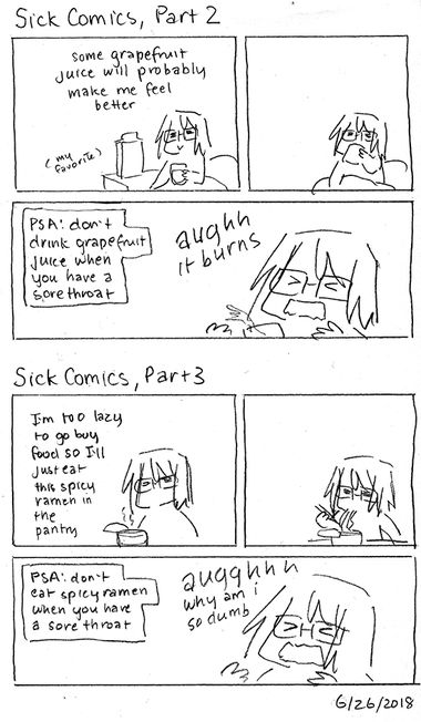 Sick Comics, Part 2 and 3