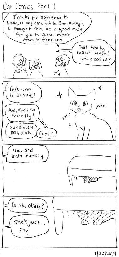 Cat Comics, Part 1