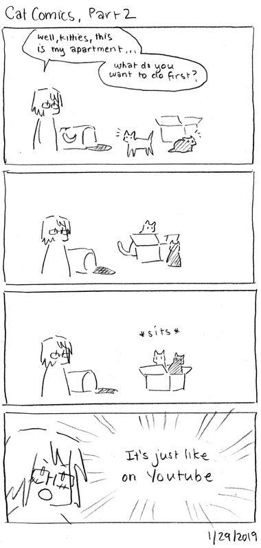 Cat Comics, Part 2