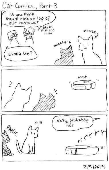 Cat Comics, Part 3