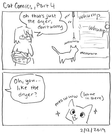 Cat Comics, Part 4