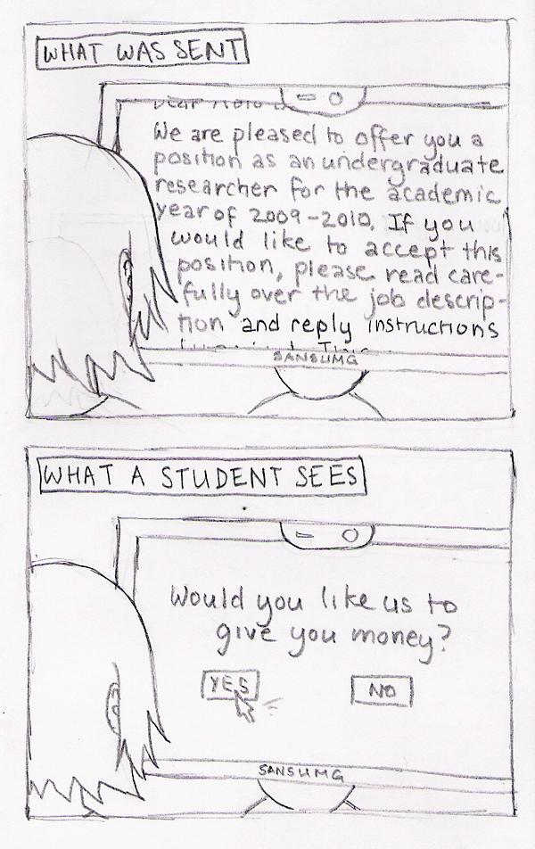 The Undergrad Mindset