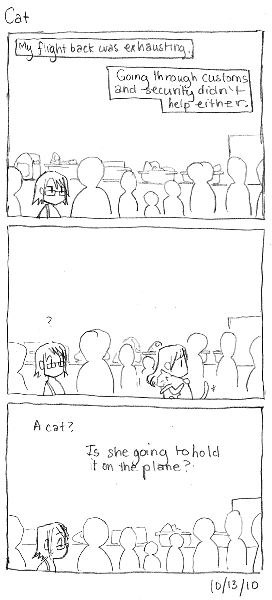 Korea Comics: Cat