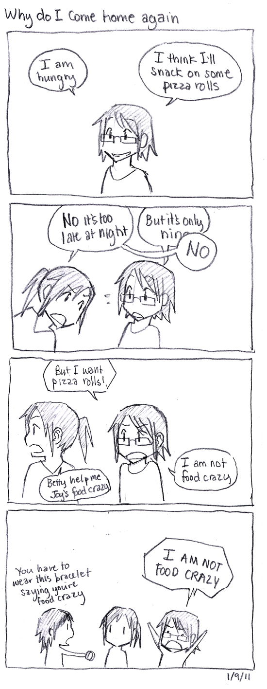 Winter Break Comics: Why do I come home again