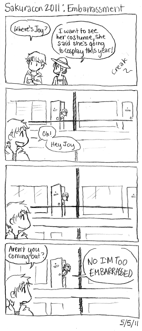 Sakuracon Comics: Embarrassment