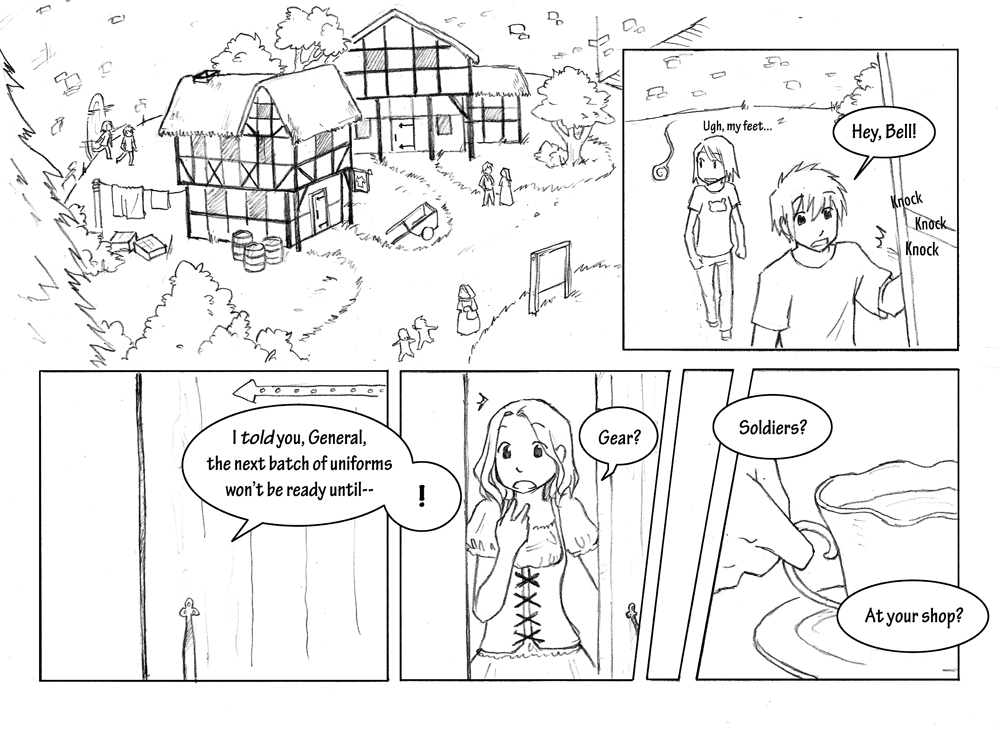 Storyline: Chapter 1 Page 5