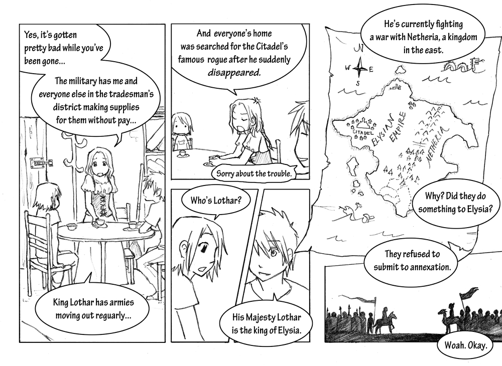 Storyline: Chapter 1 Page 6