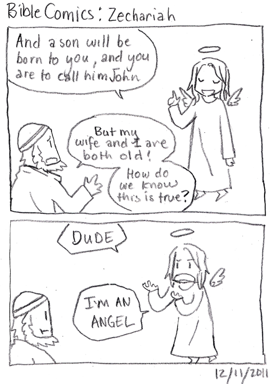 Bible Comics: Zechariah