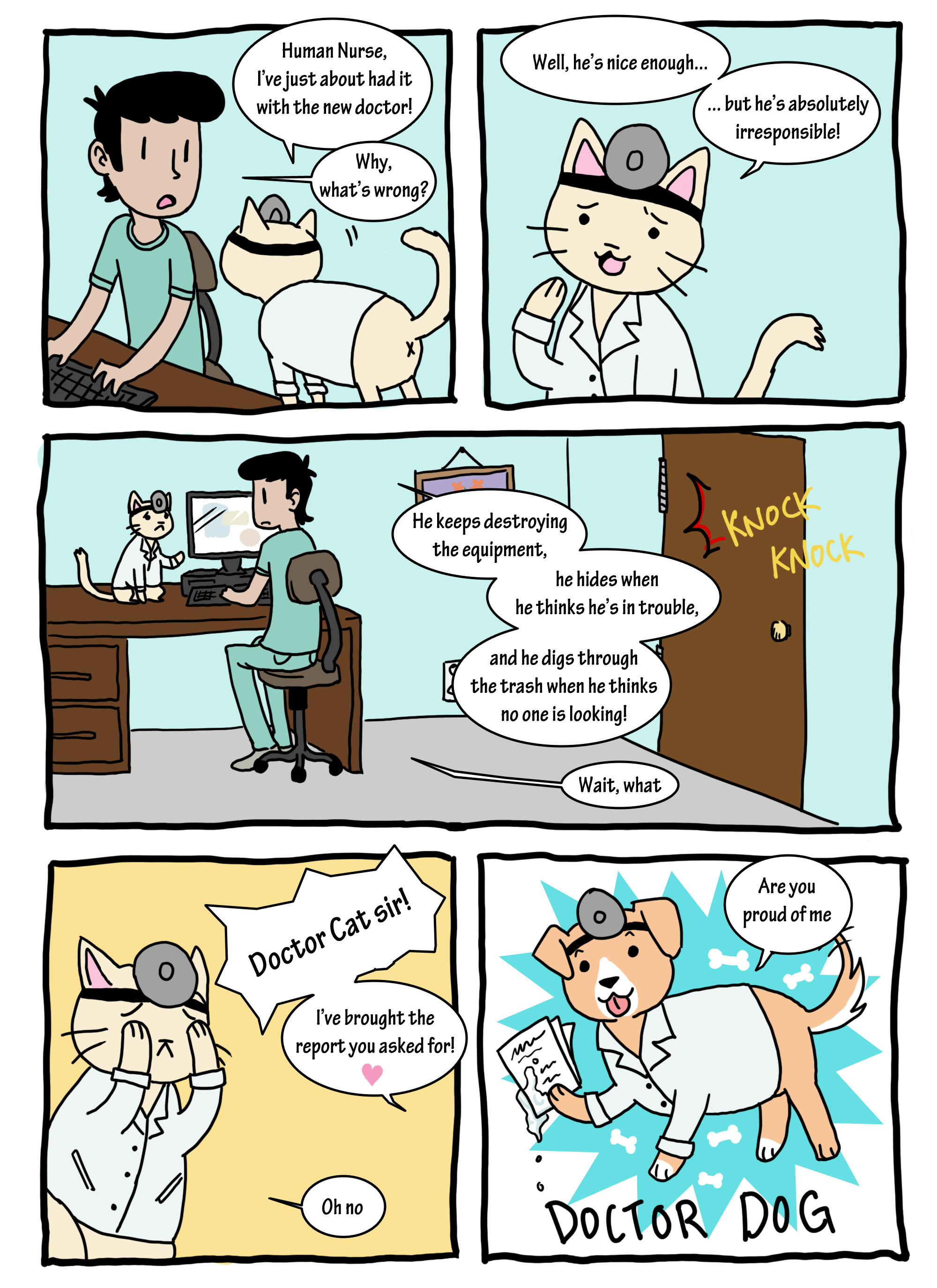Doctor Cat Comic | HD Walls | Find Wallpapers