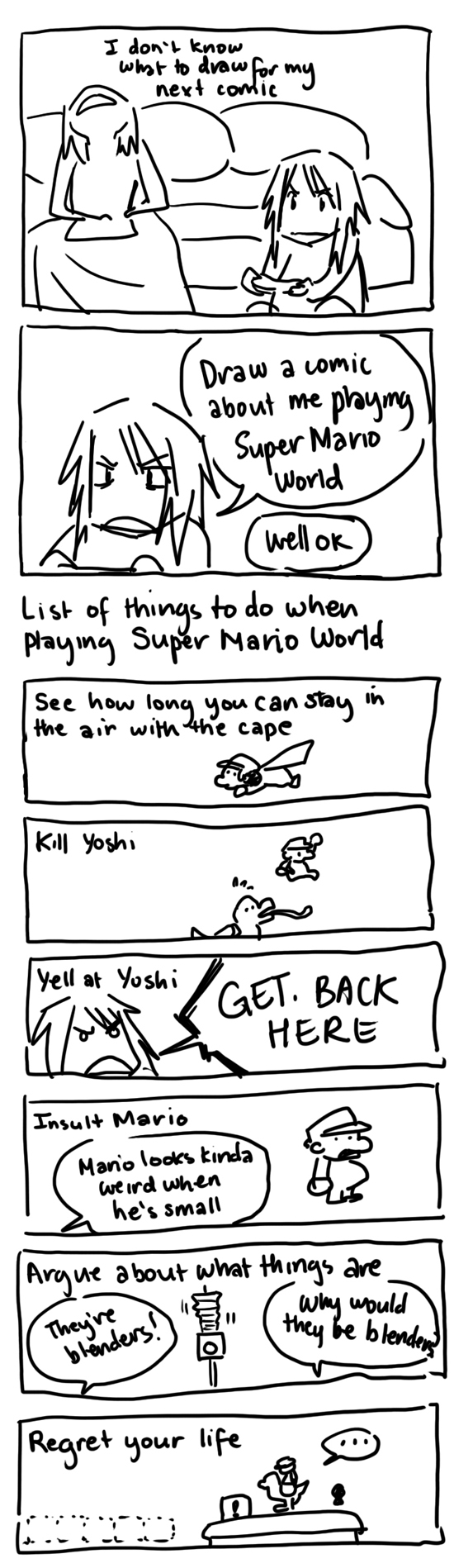 Summer Break Comics: Super Mario World