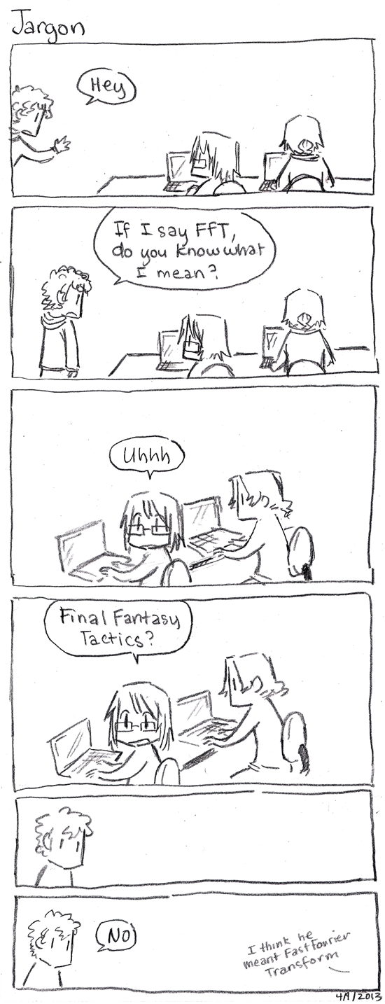 Grad School Comics: Jargon