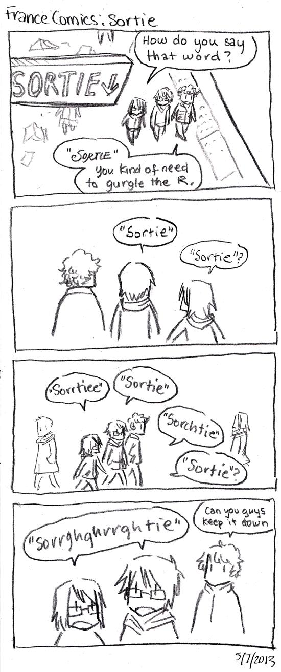 France Comics: Sortie