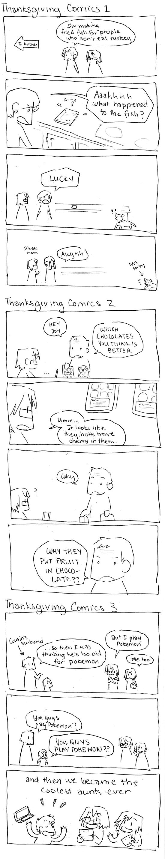 Thanksgiving Comics