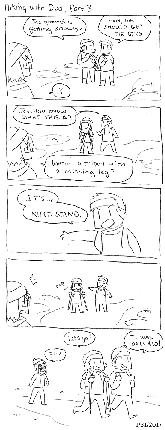 Hiking with Dad, Part 3