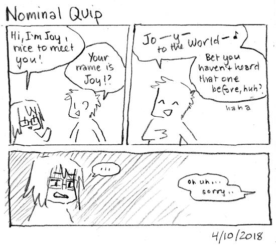 Nominal Quip