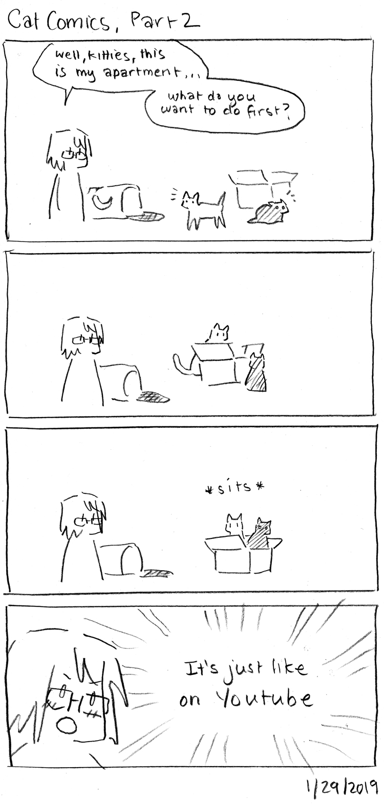 Cat Comics, Part 2