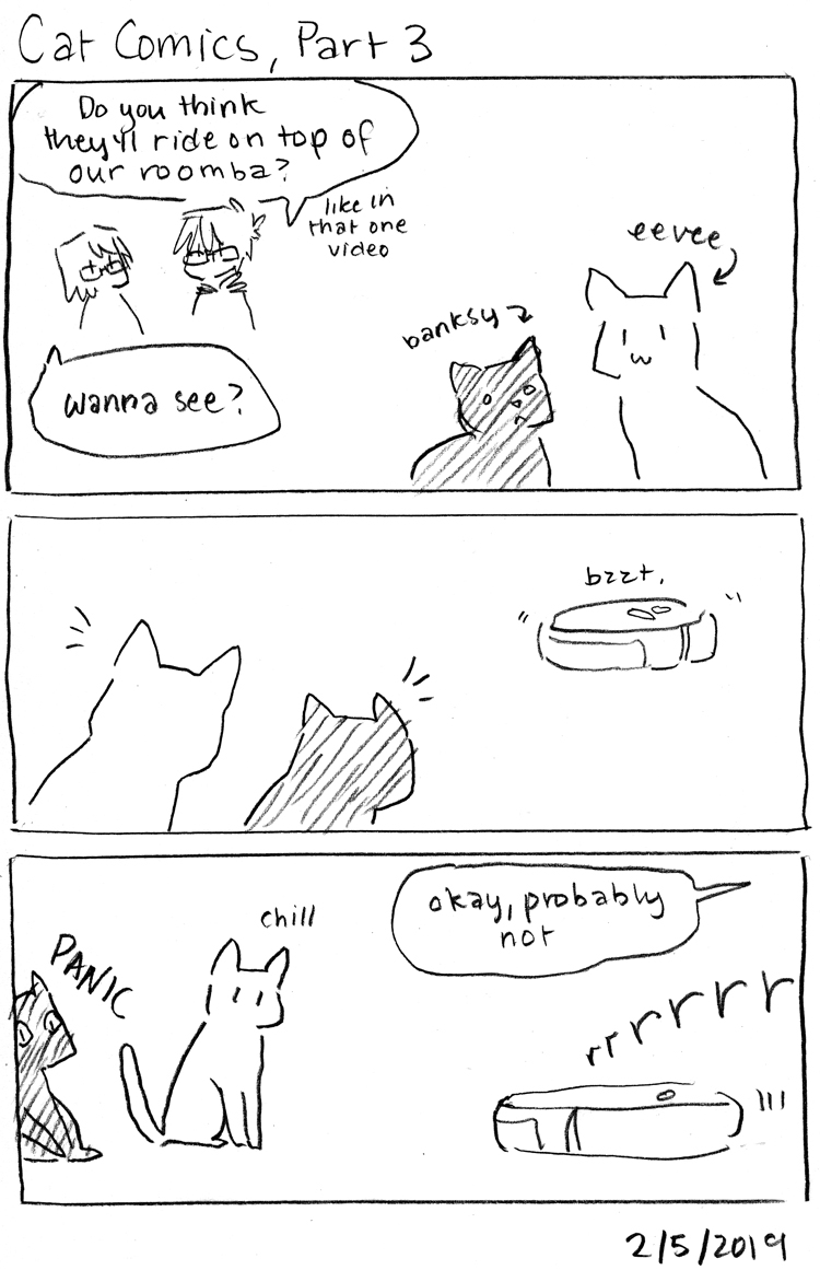 Cat Comics, Part 3