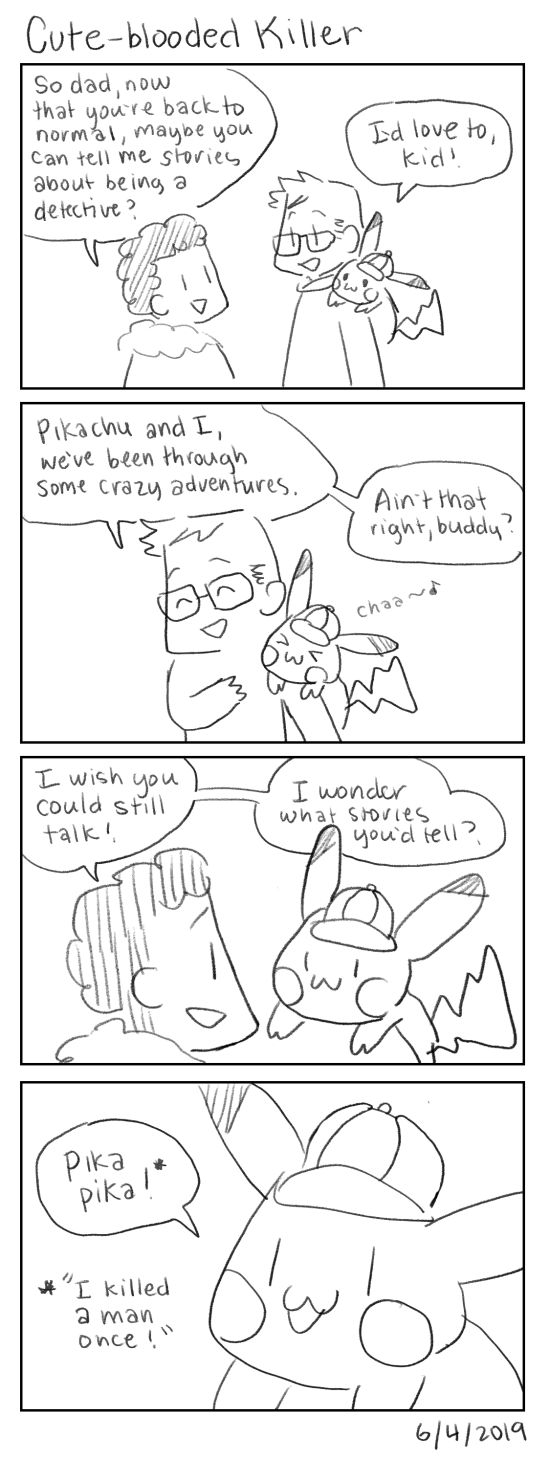 Cute-blooded Killer [Detective Pikachu spoilers]