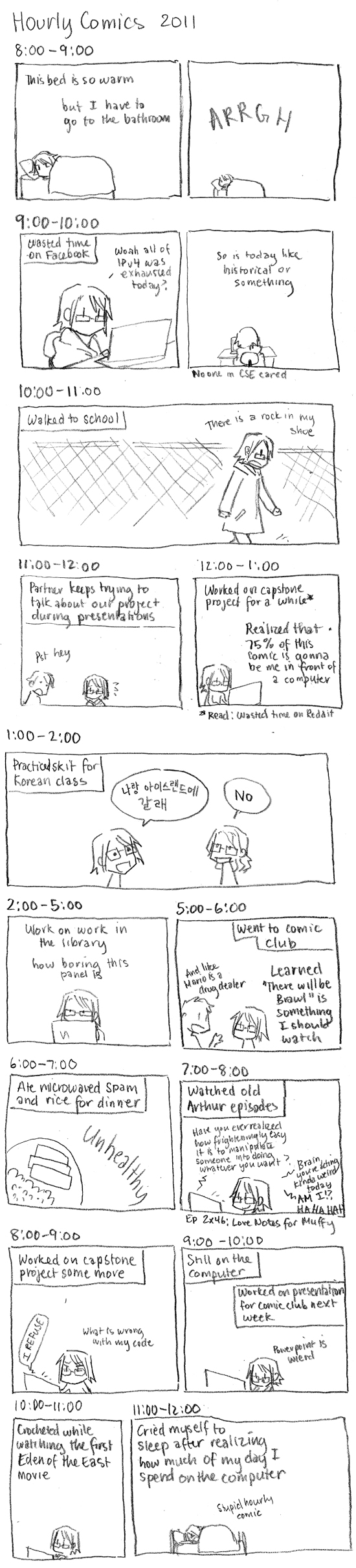 Hourly Comics Day 2011