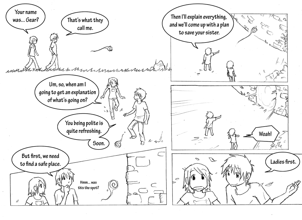 Storyline: Chapter 1 Page 4