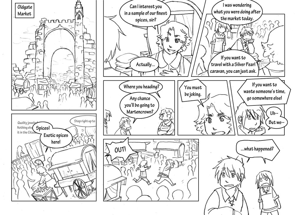Storyline: Chapter 2 Page 3