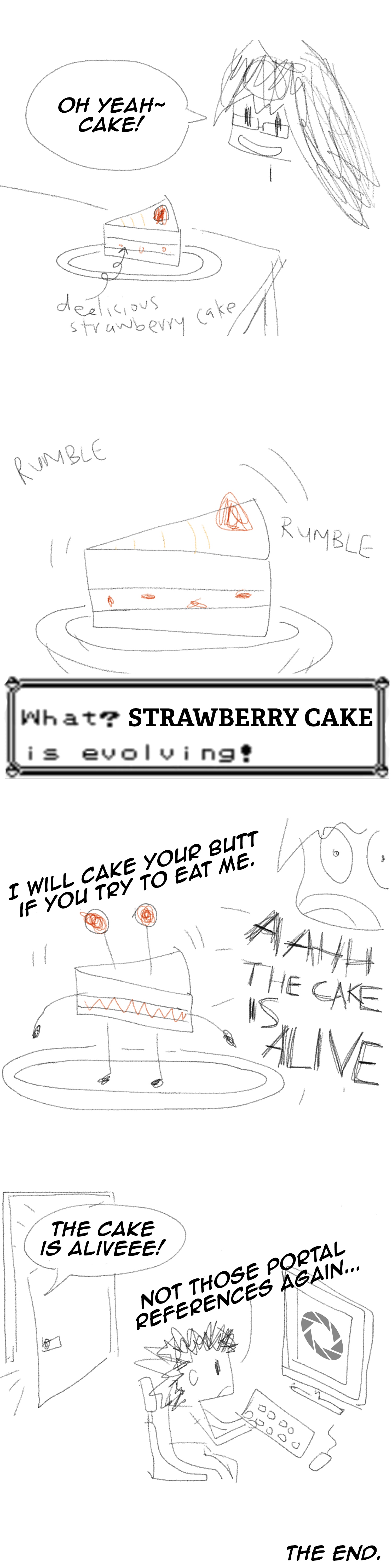 Guest Comic: Cake and Randomness