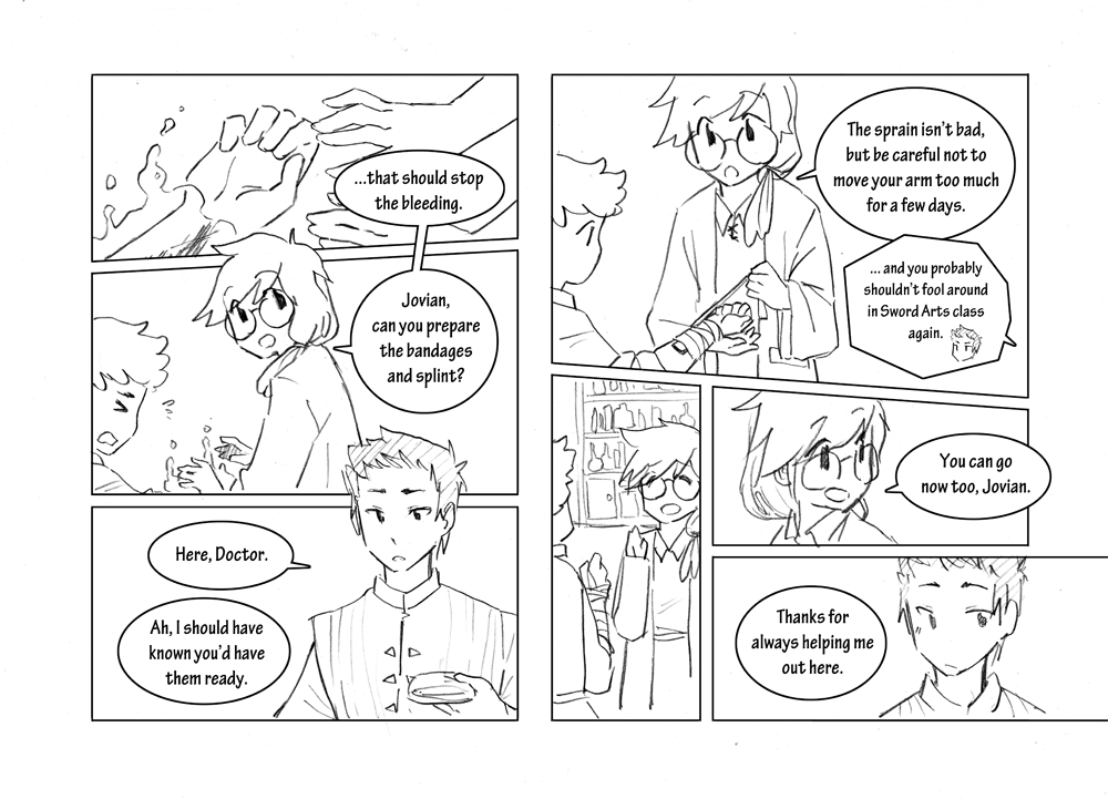 Storyline: Chapter 5 Page 1