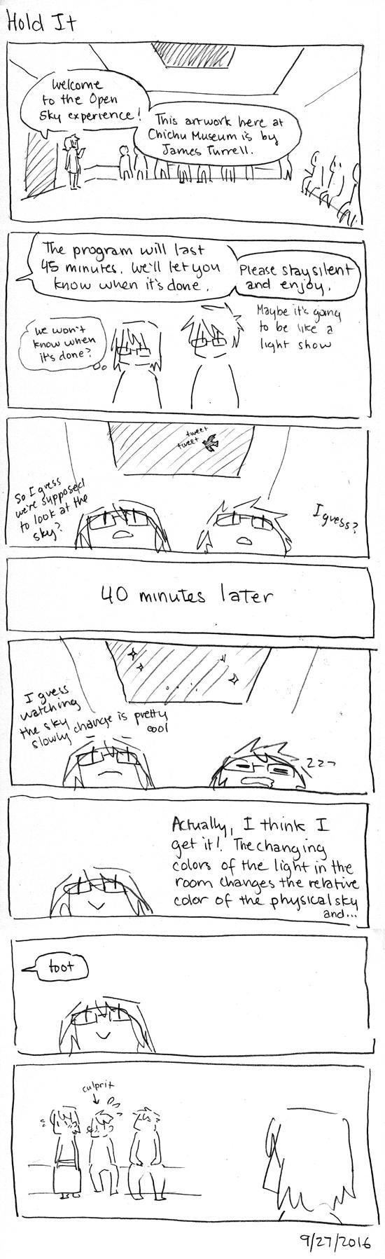 Japan Comics: Hold It