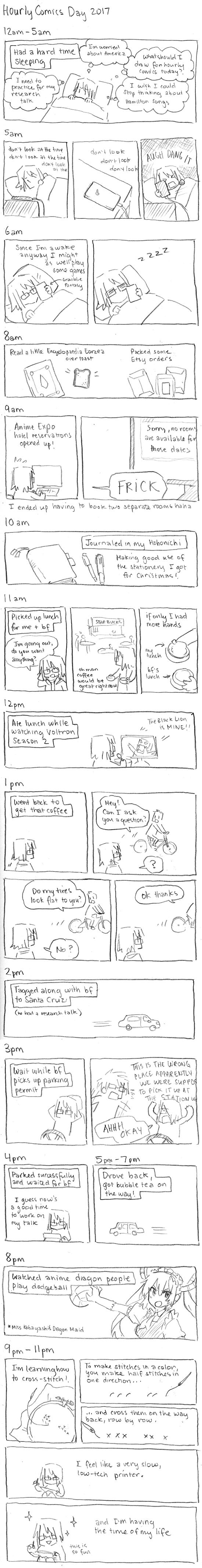 Hourly Comics Day 2017