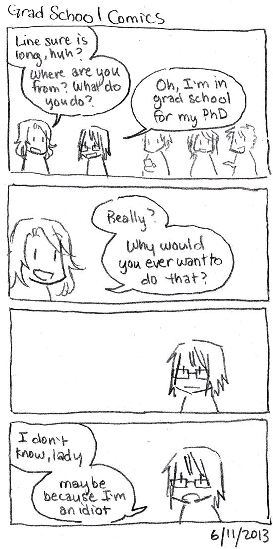 Grad School Comics: Why?