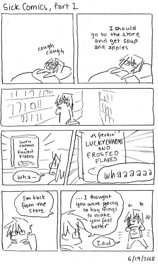 Sick Comics, Part 1